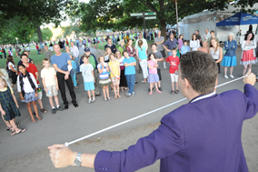 Strolling Magician in hudson valley